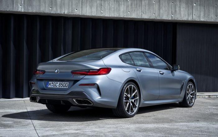 BMW 8 Series Gran Coupe rear