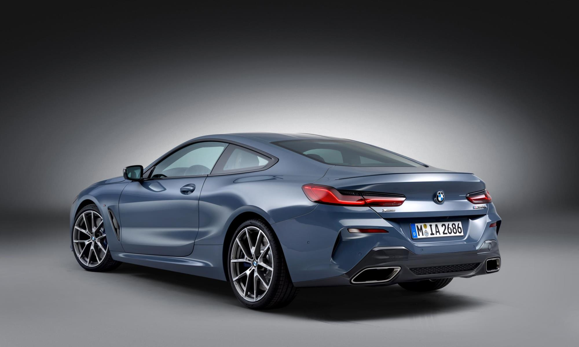 BMW 8 Series rear