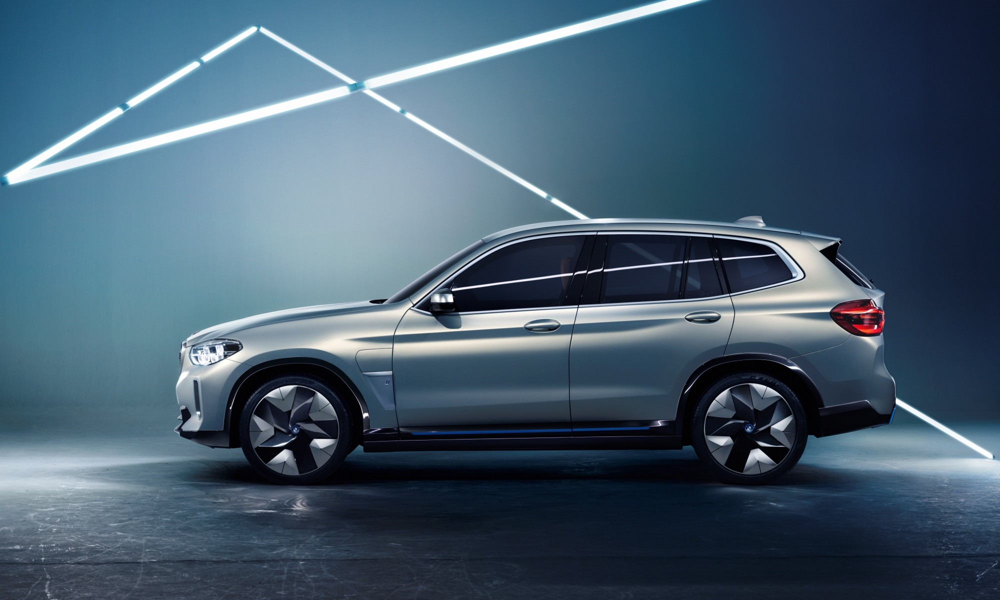 BMW Concept iX3 profile