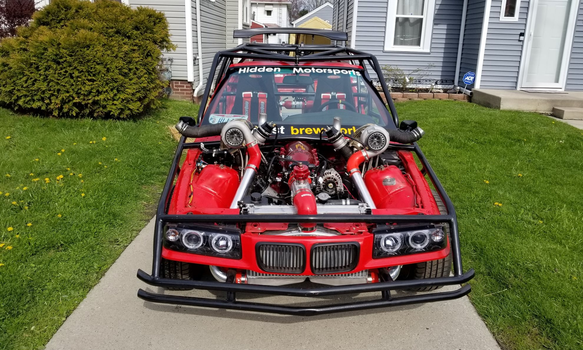 BMW Drift Kart front