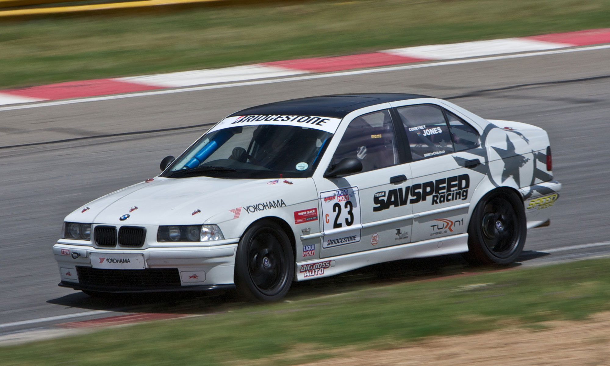 BMW E36 328i racecar