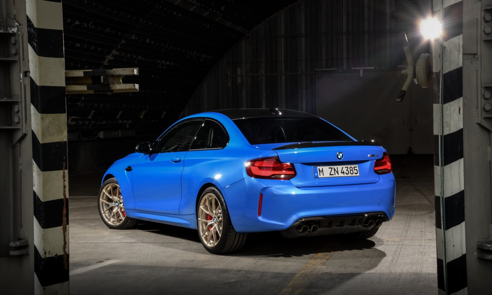 BMW M2 CS rear