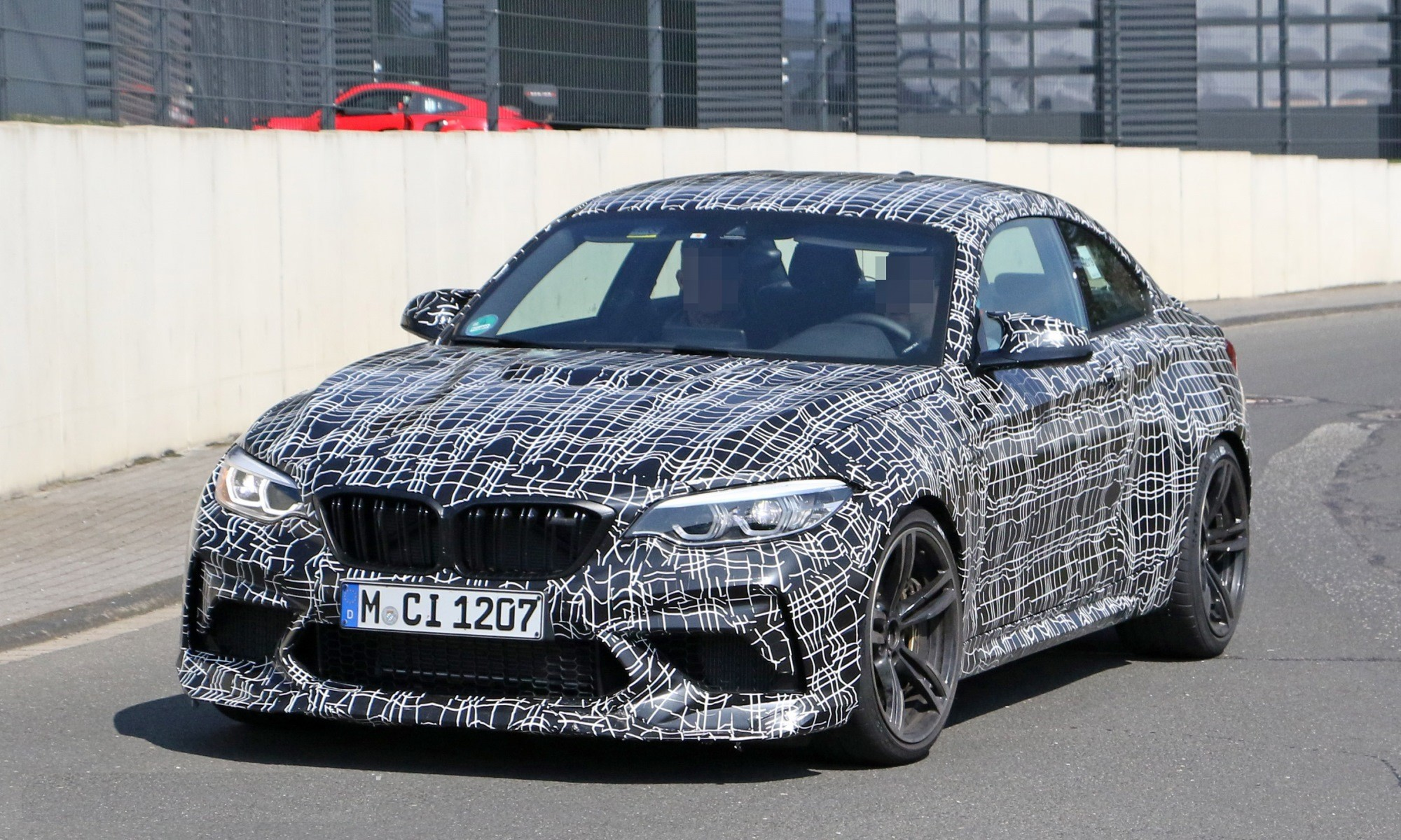 BMW M2 CS spotted