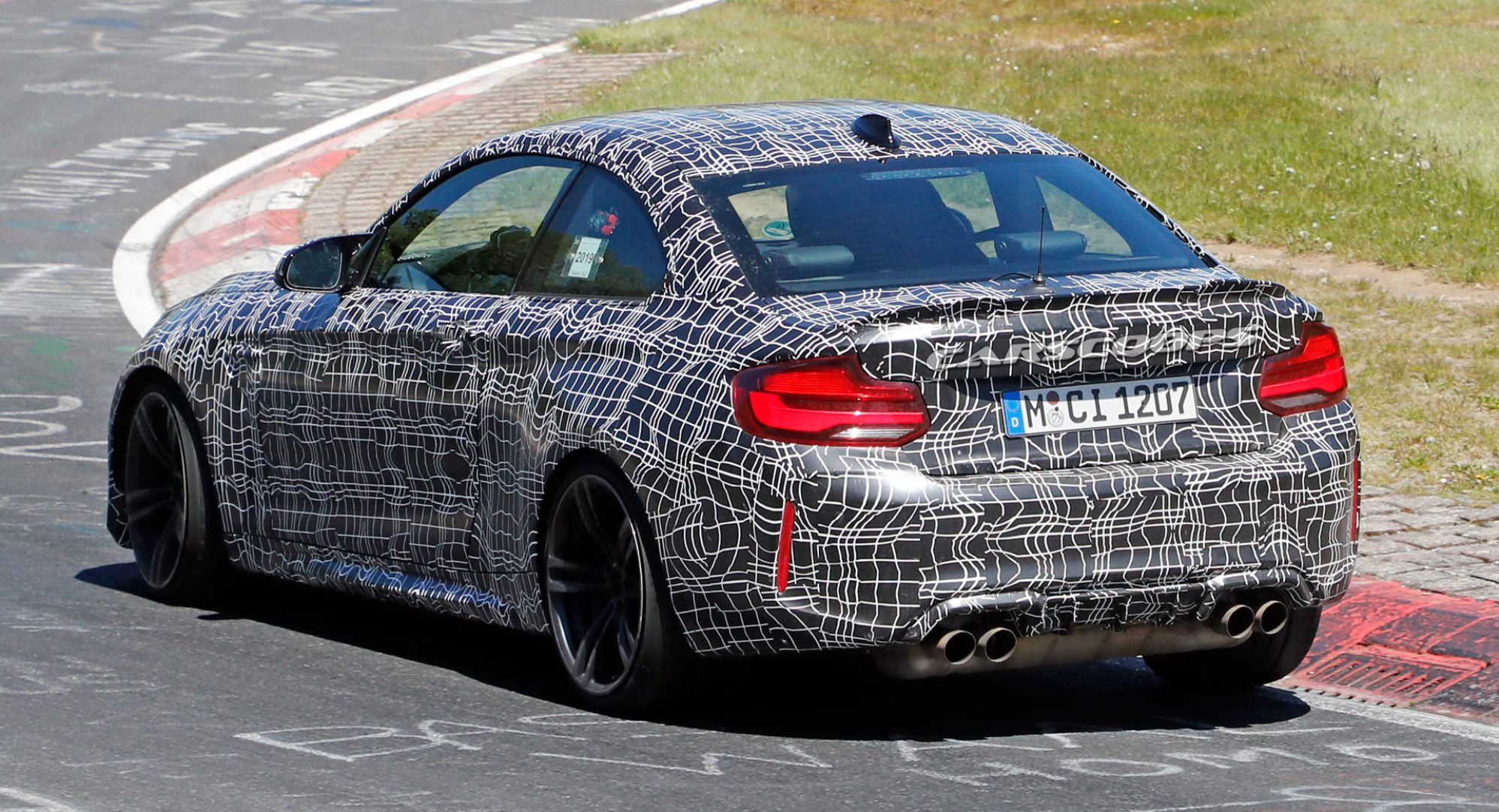 BMW M2 CS spotted rear 1