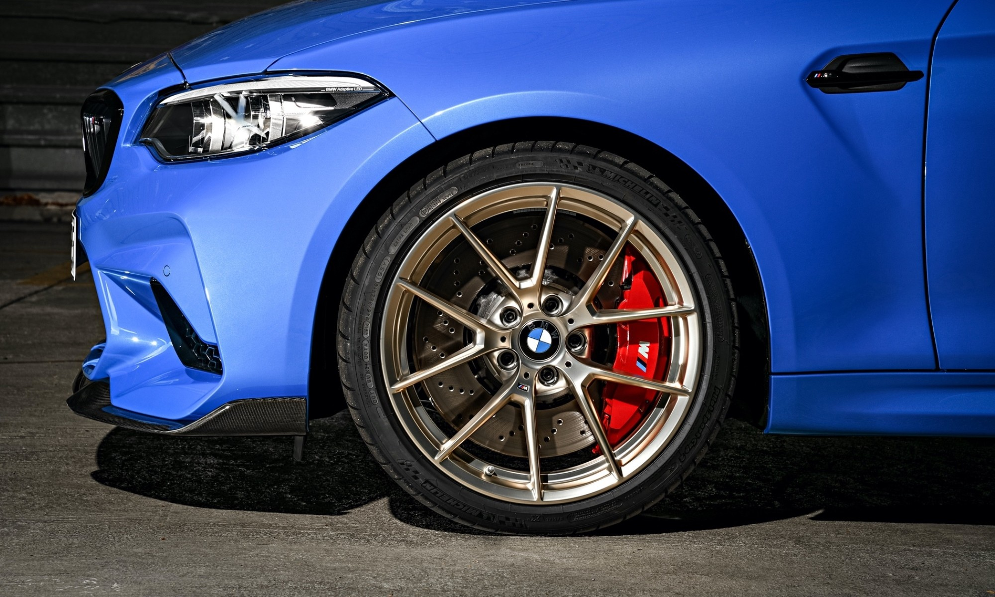 BMW M2 CS wheel