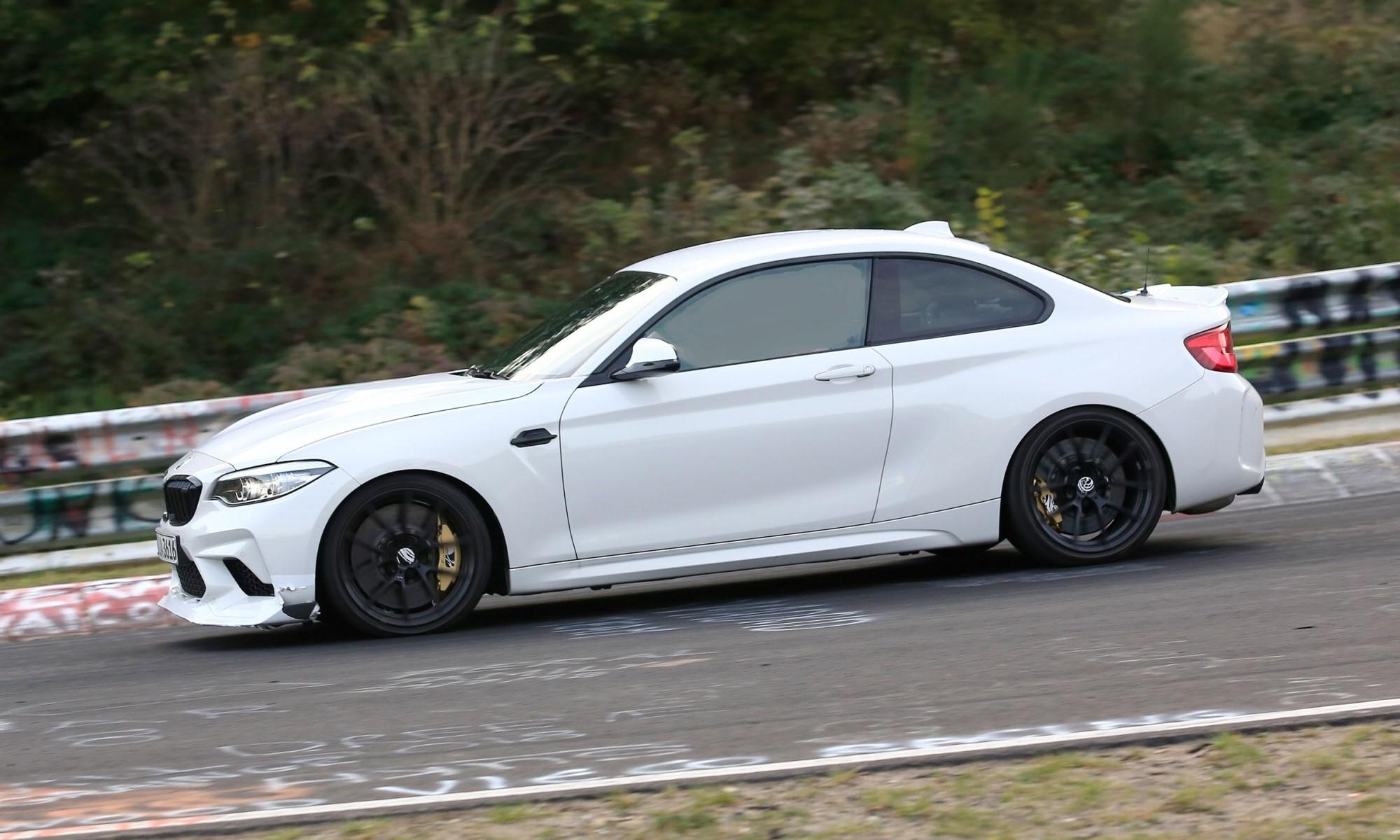 BMW M2 CSL profile