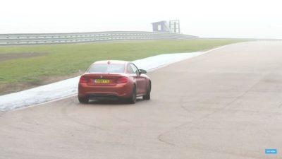 BMW M2 Competition sideways