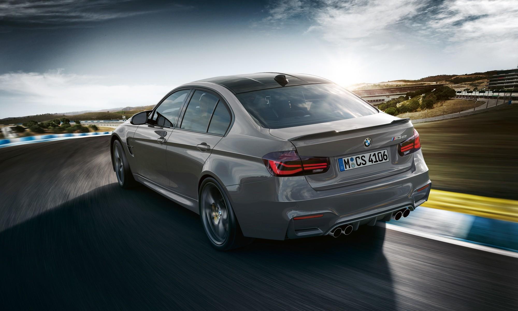 BMW M3 CS rear