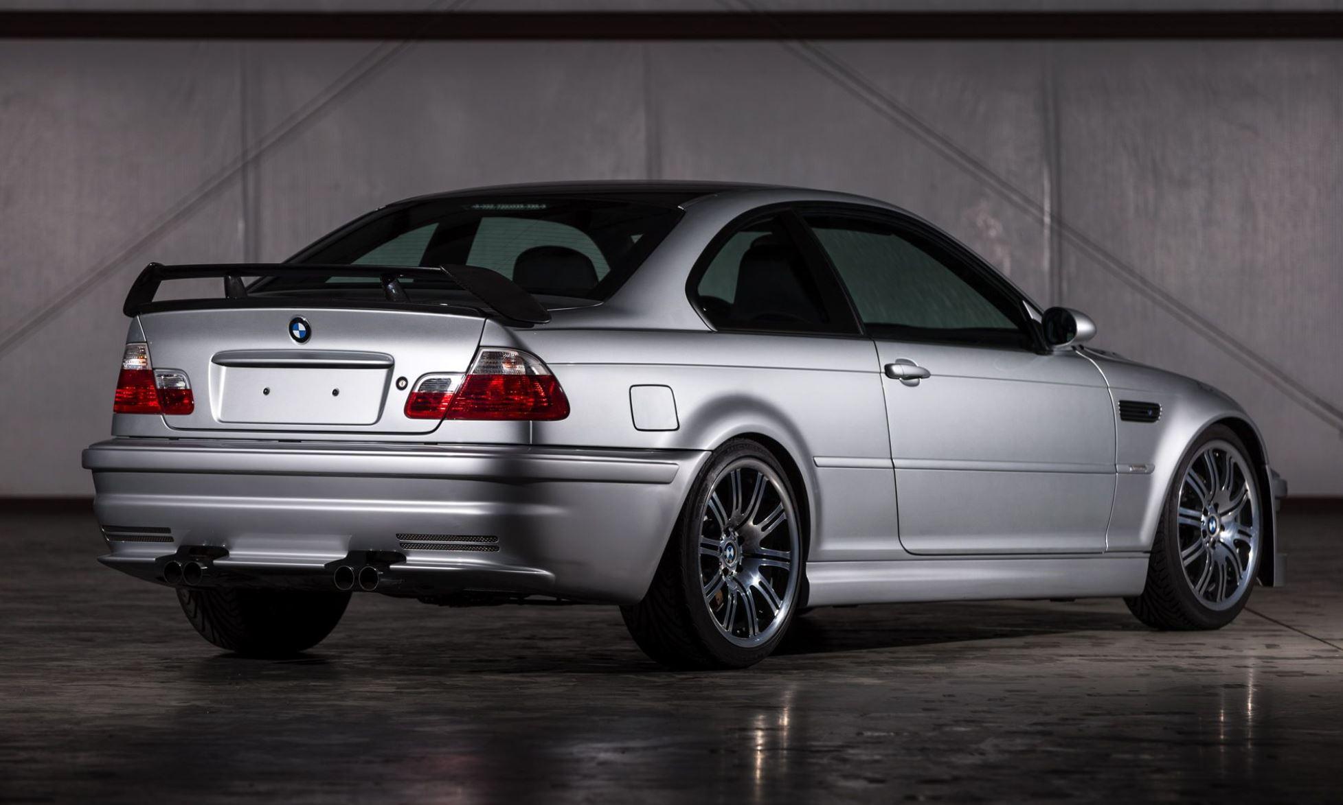 BMW M3 GTR rear