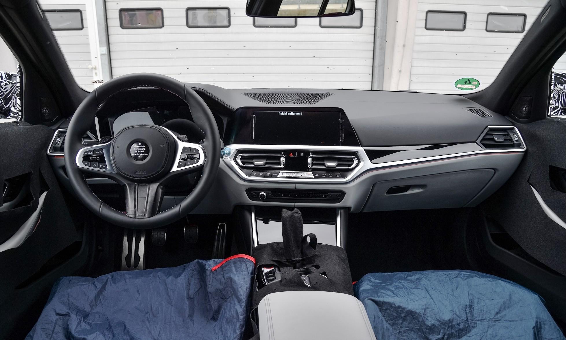 BMW M3 Prototype dashboard