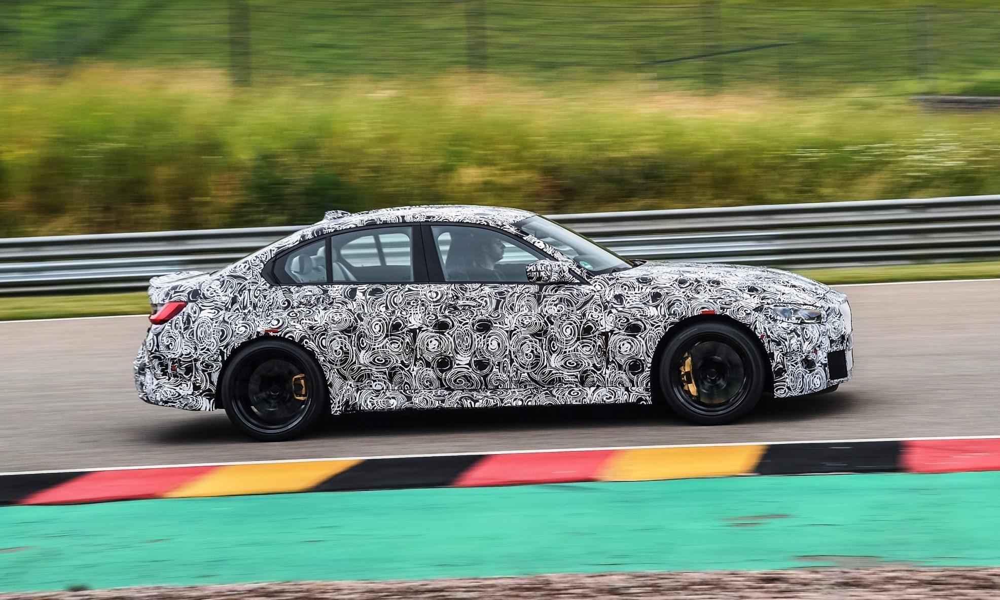 BMW M3 Prototype profile
