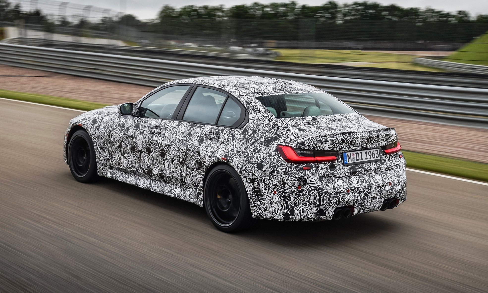 BMW M3 Prototype rear side