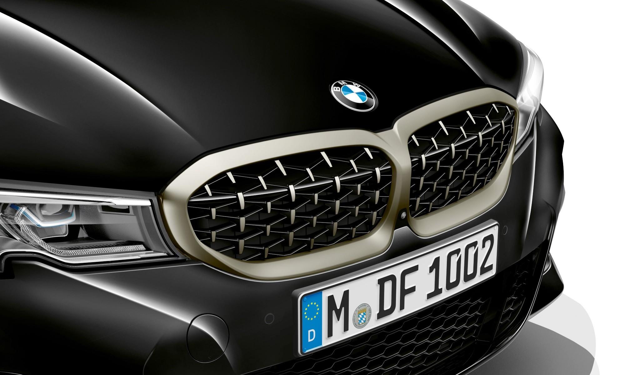 BMW M340i grille