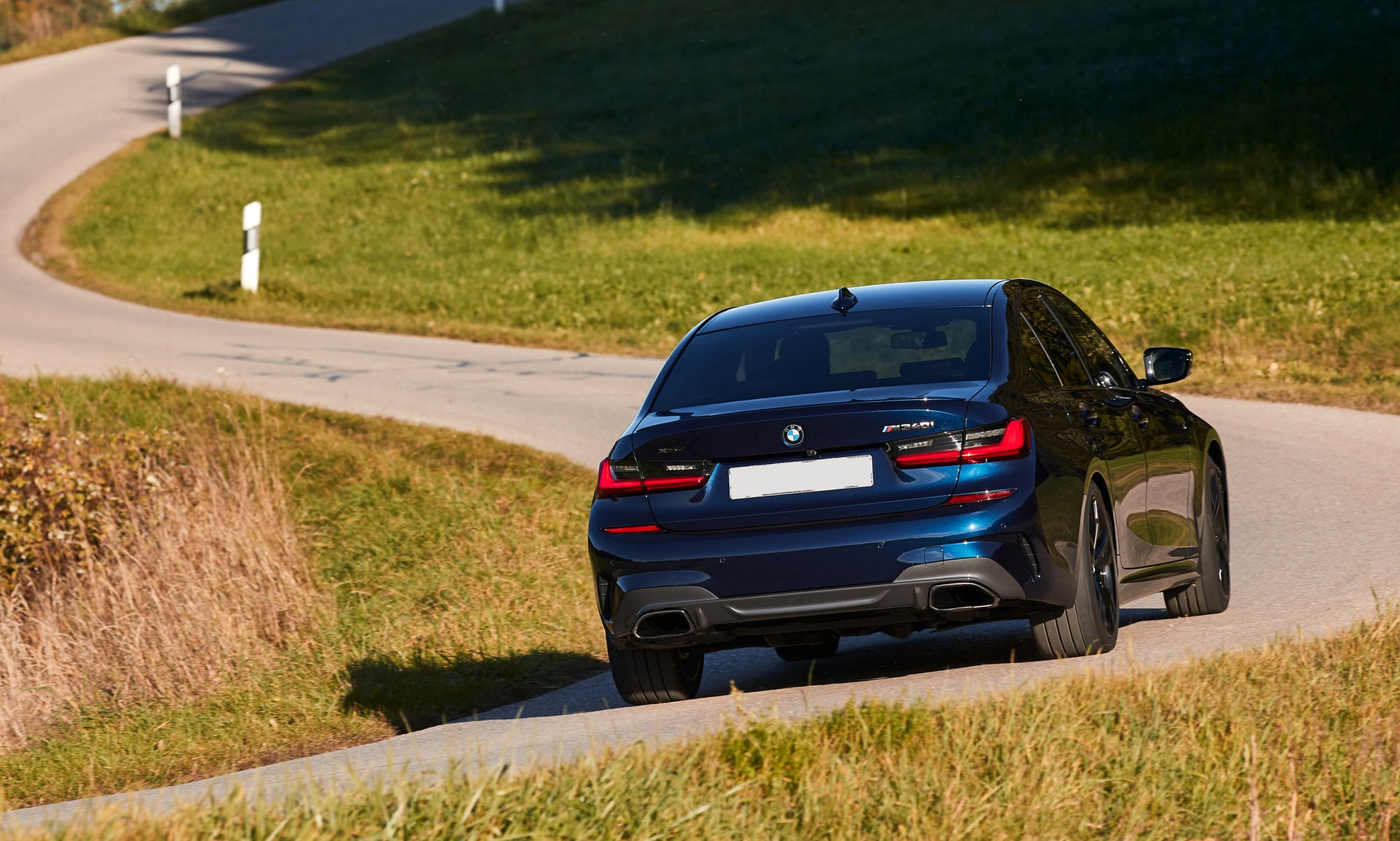 BMW M340i xDrive rear