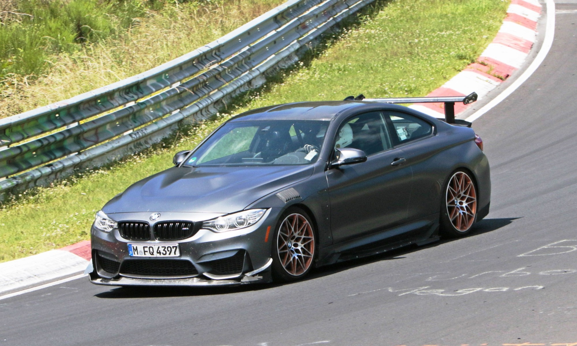 BMW M4 GTS spotted testing