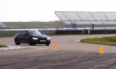 BMW M4 Competition sideways