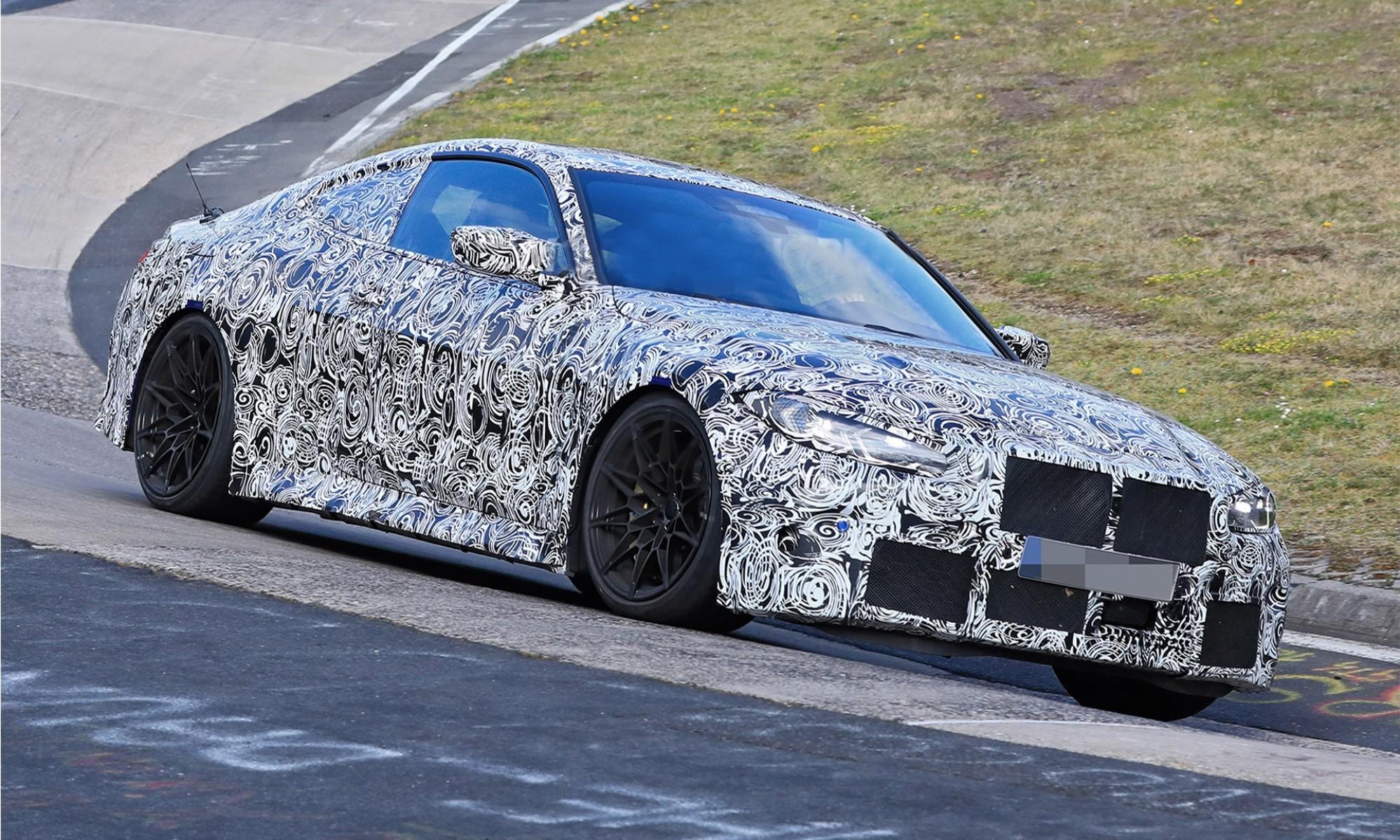BMW M4 testing