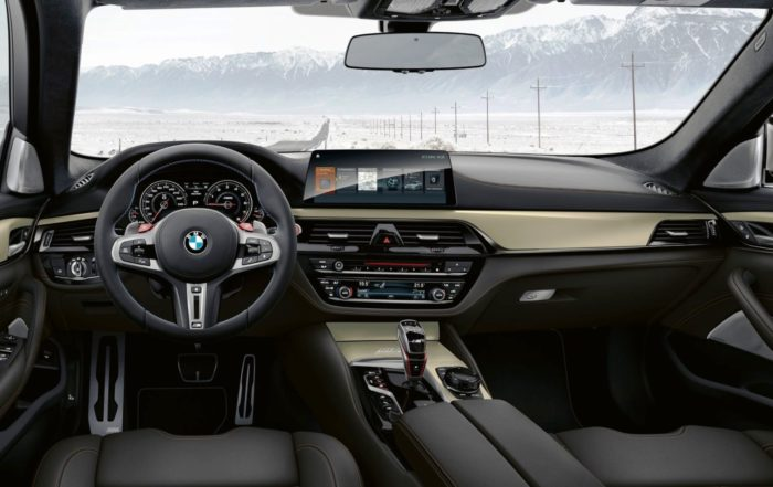 BMW M5 Edition 35 Years interior