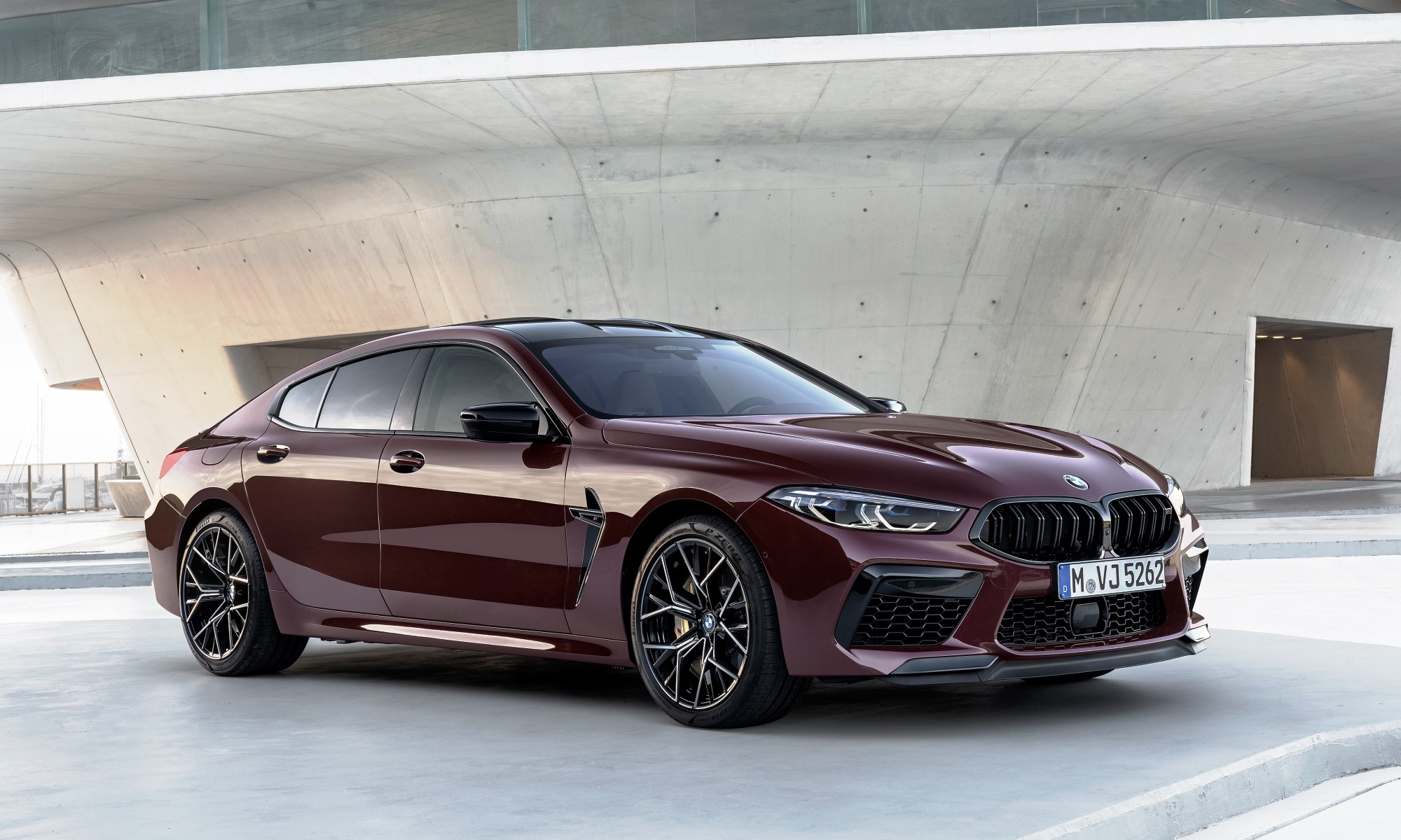 BMW M8 Gran Coupe front