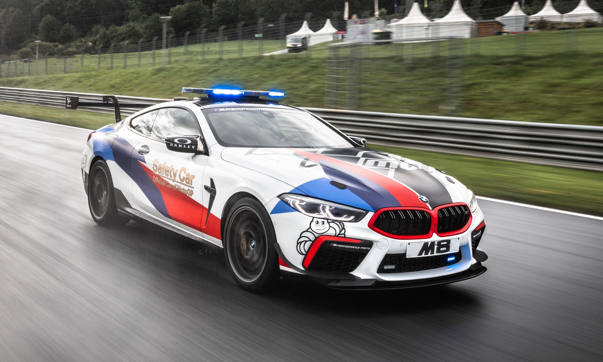 BMW M8 Safety Car front