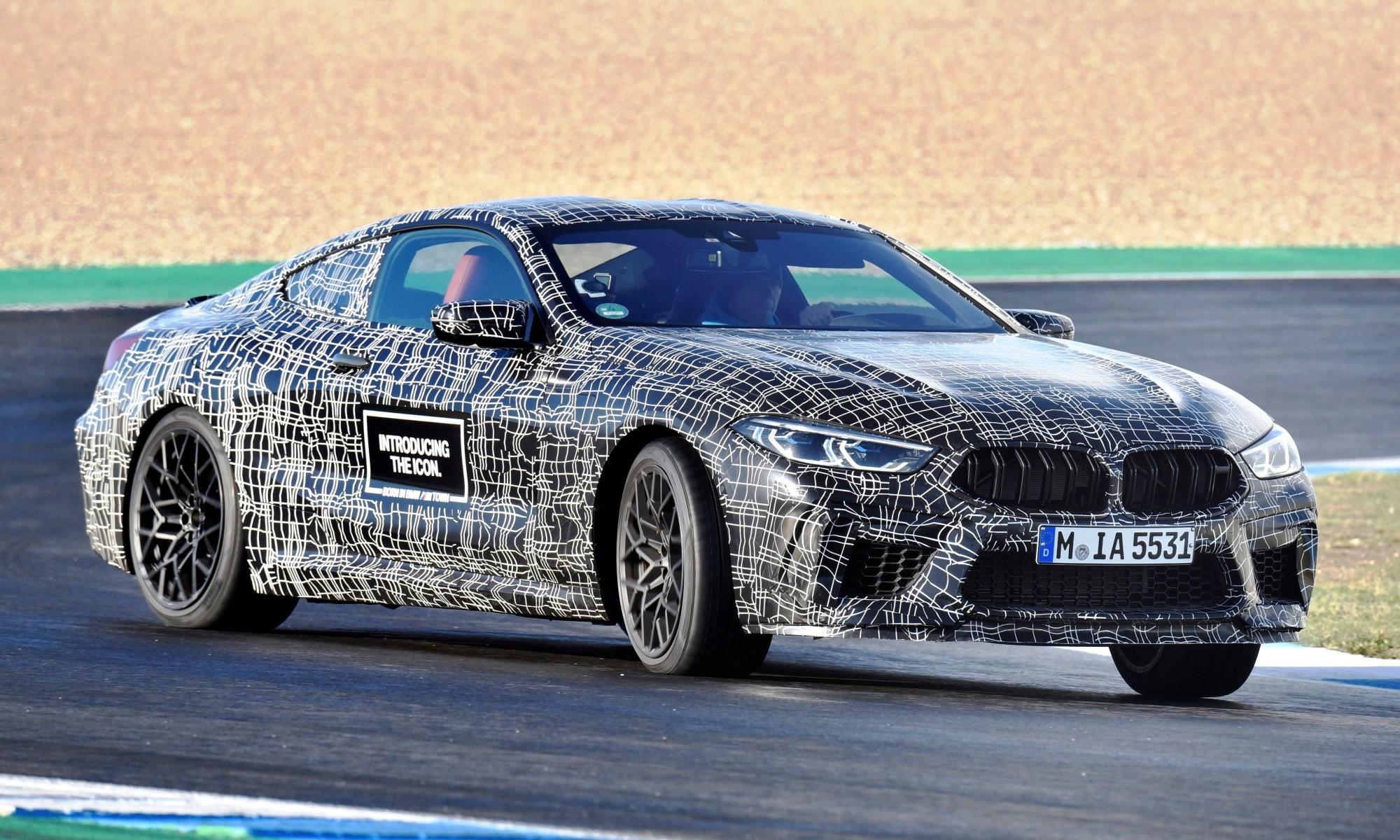 BMW M8 engine specs confirmed