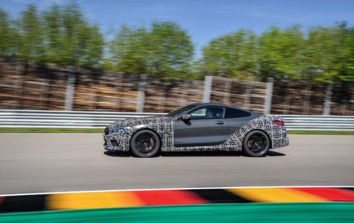 BMW M8 profile