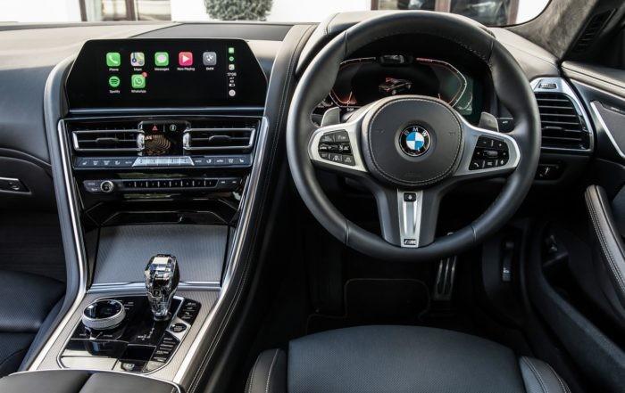 BMW M850i xDrive interior