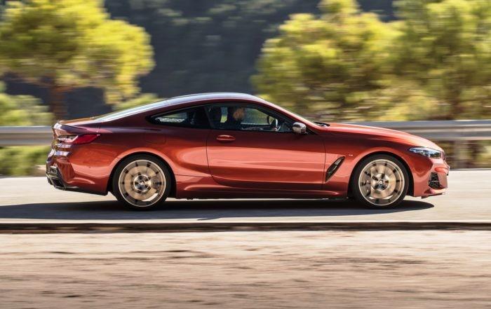 BMW M850i xDrive profile