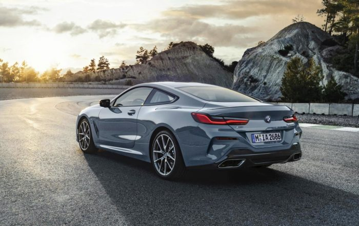 BMW M850i xDrive rear
