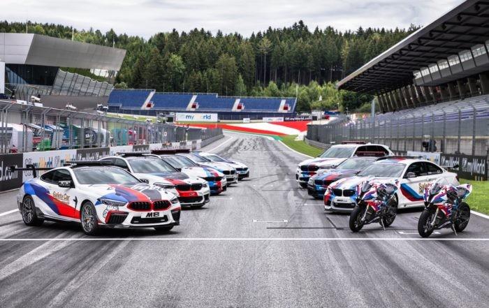 BMW Safety Car history