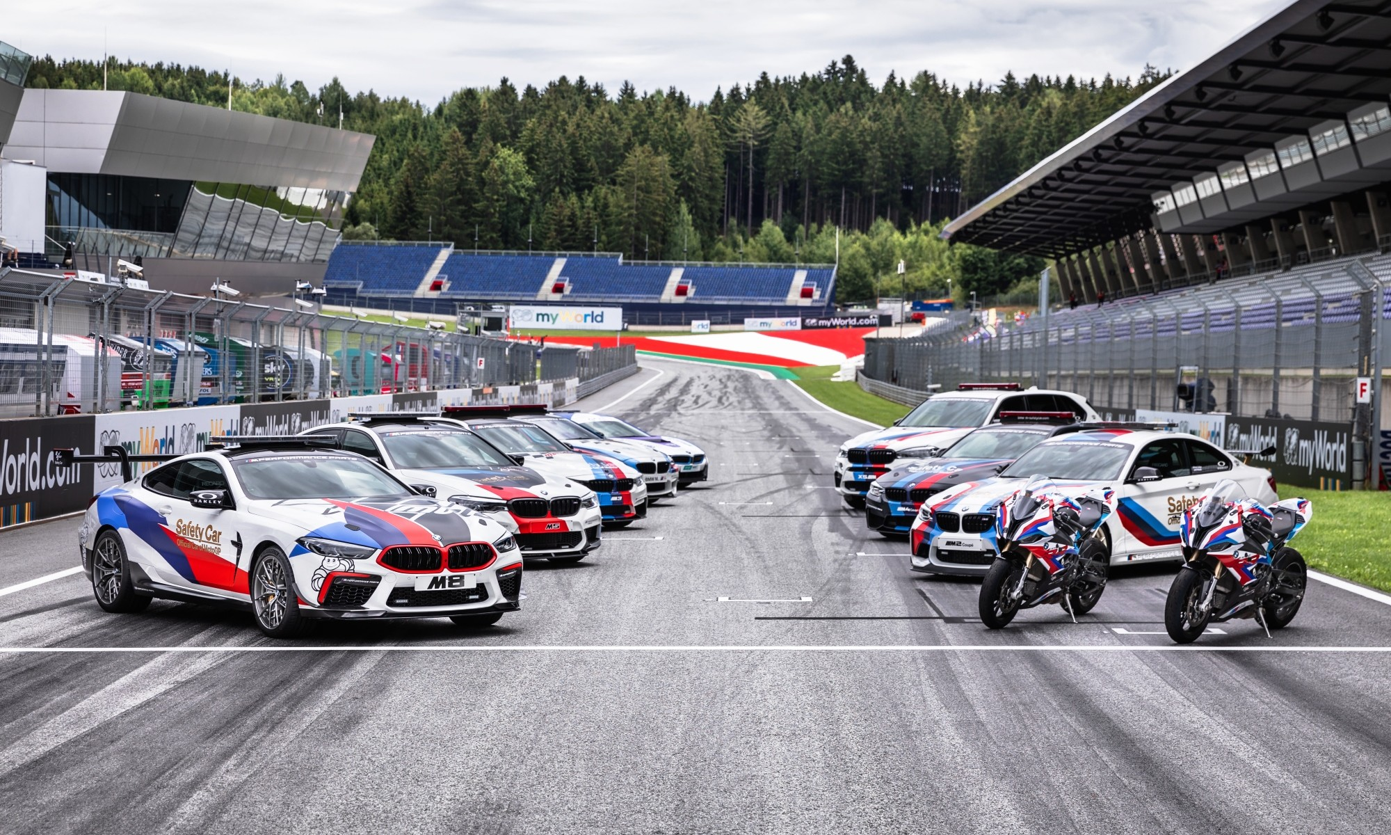 BMW Safety Car history