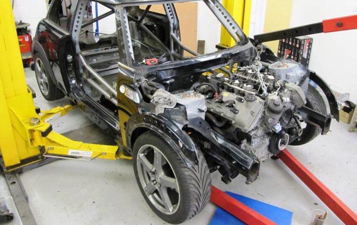 BMW V8-Engined Mini 1