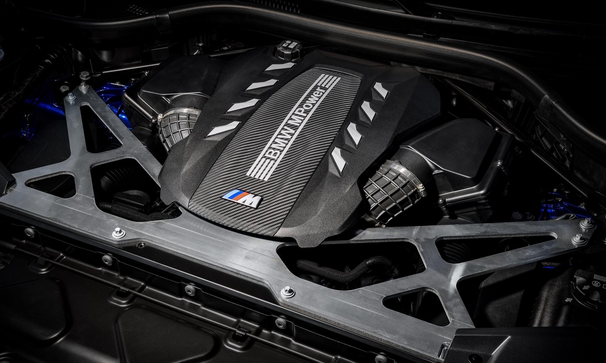 BMW X5M and BMW X6M engine
