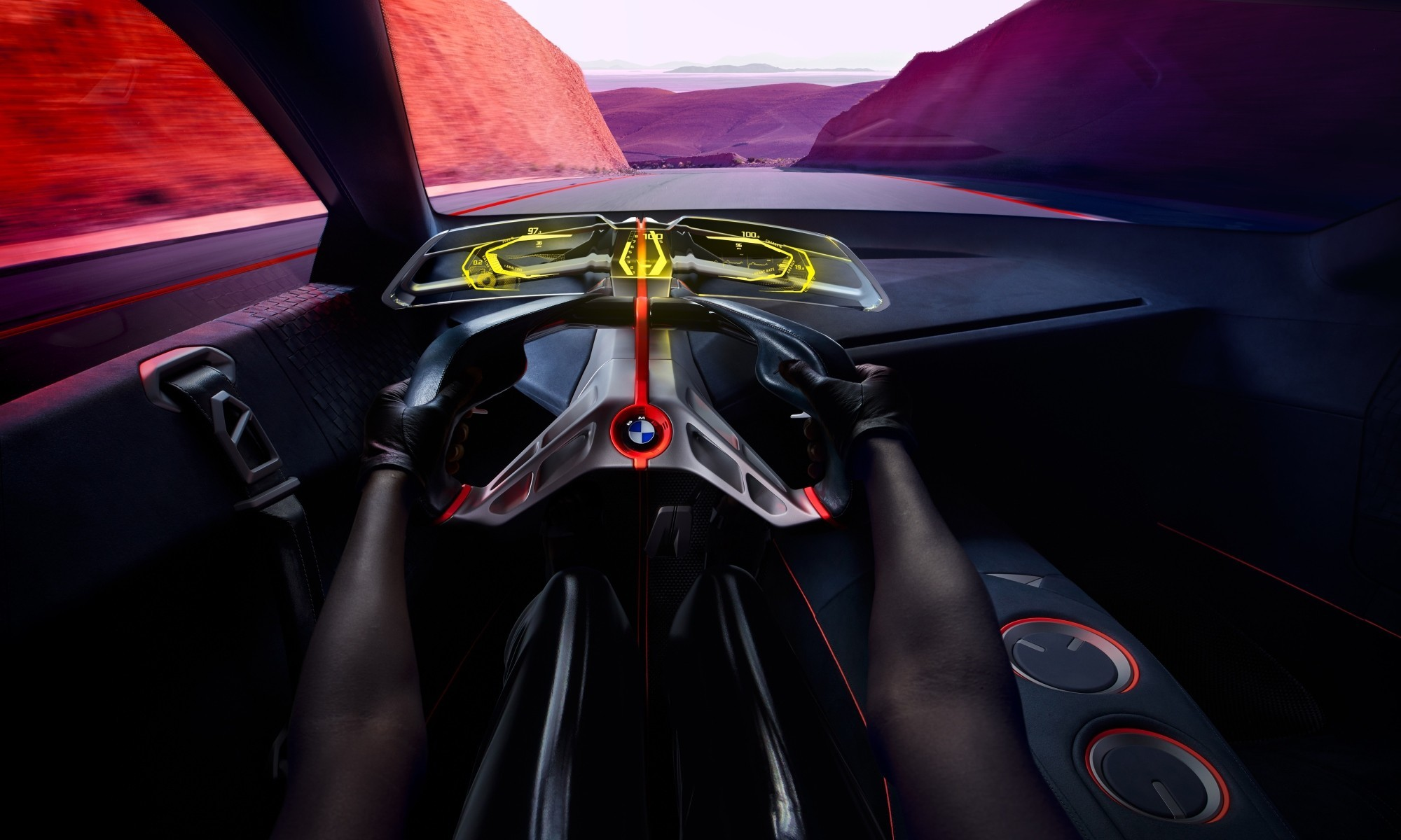 BMW Vision M Next interior