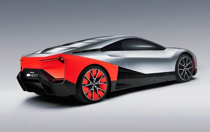 BMW Vision M Next rear