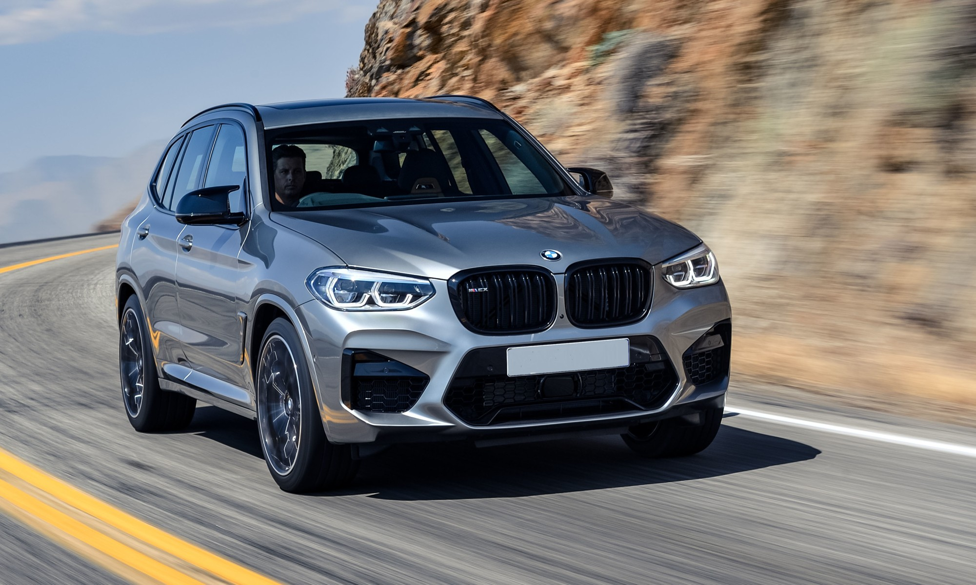 BMW X3M Competition Driven