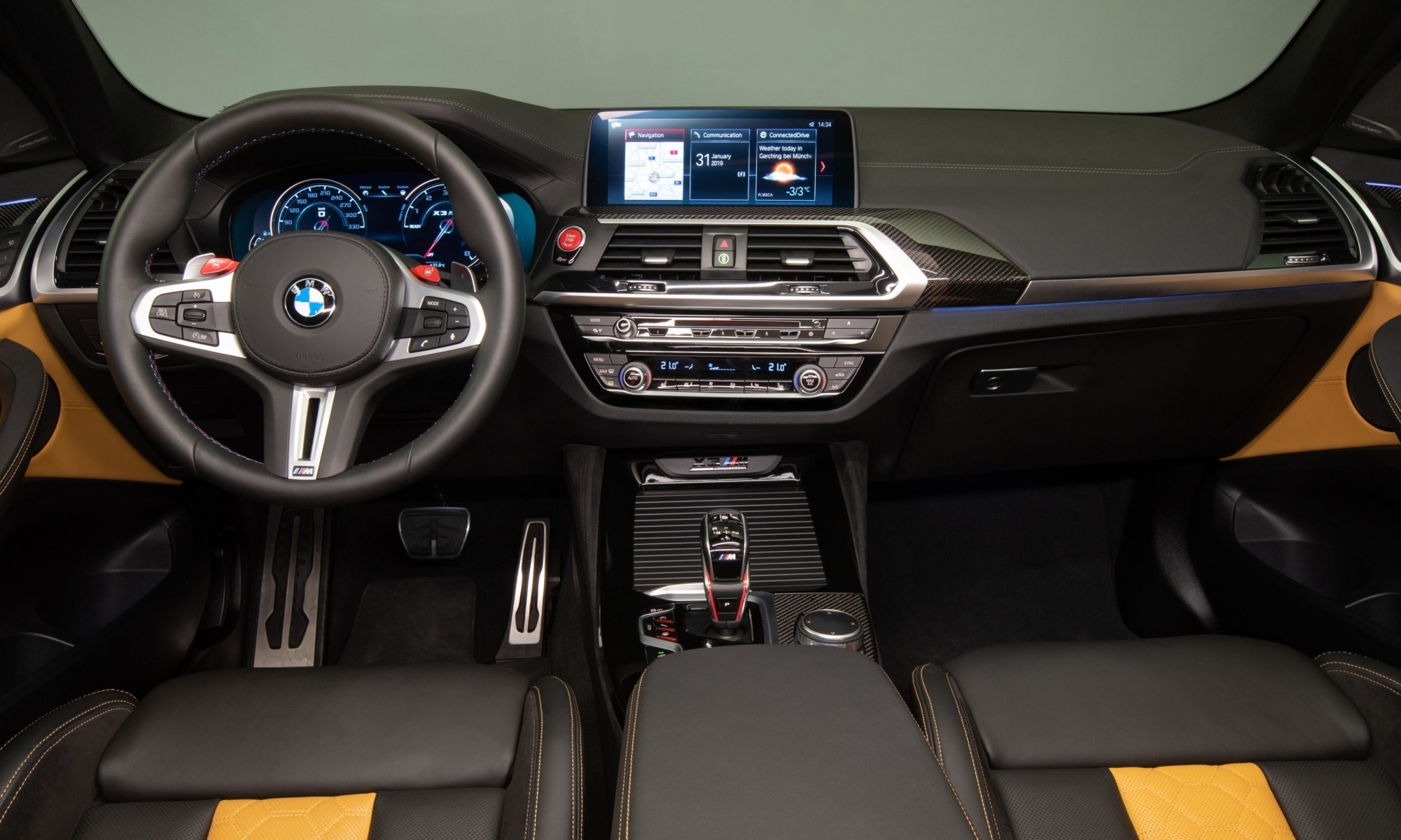 BMW X3M Competition interior