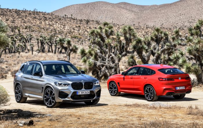 BMW X4M Competition and X3M Competition launched