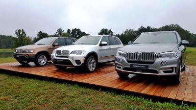 BMW X5 generations