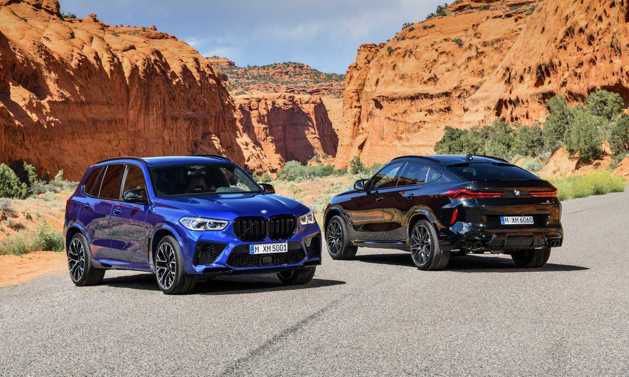 BMW X5M and BMW X6M