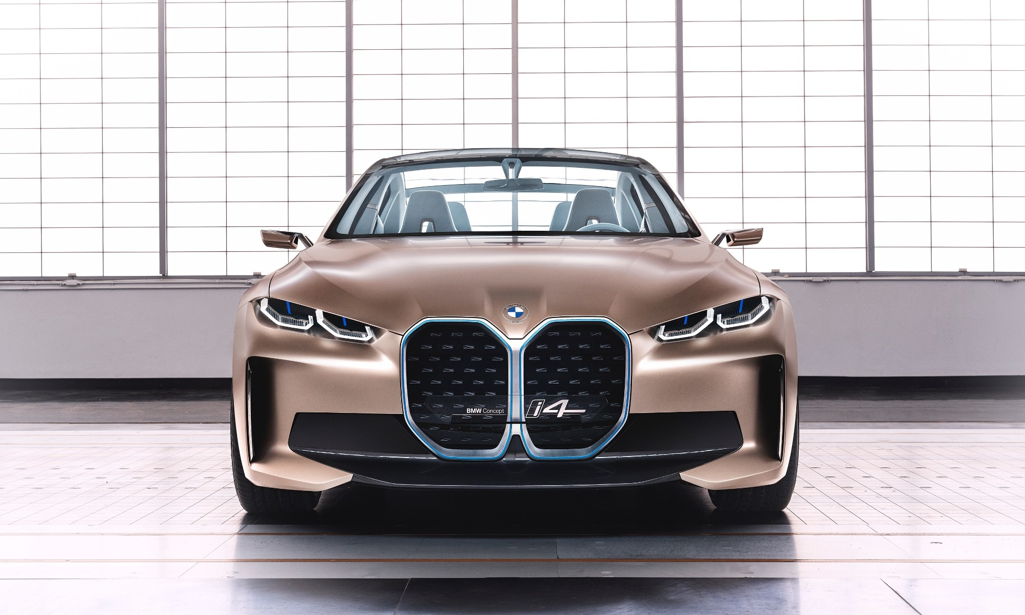 BMW i4 Concept front