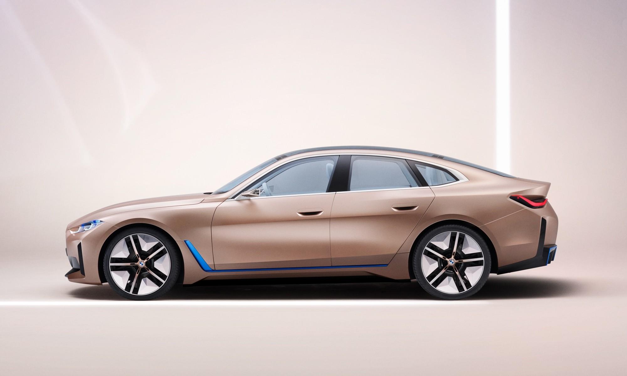 BMW i4 Concept profile