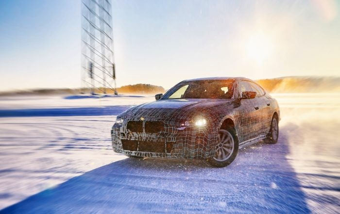 BMW i4 testing