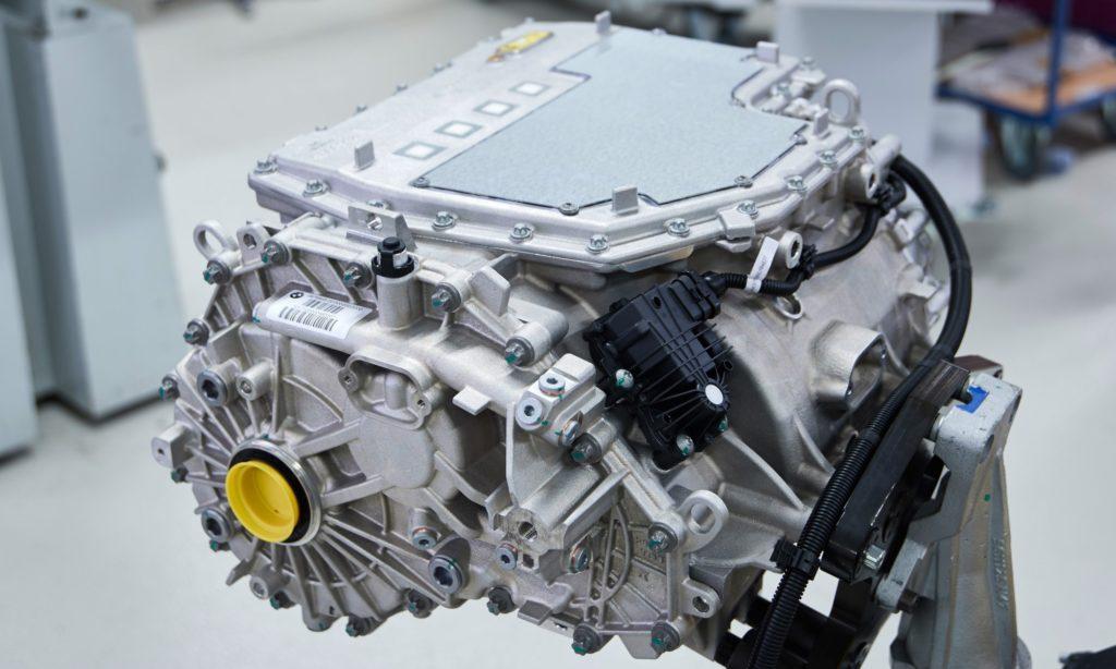 BMW iX3 modular powertrain