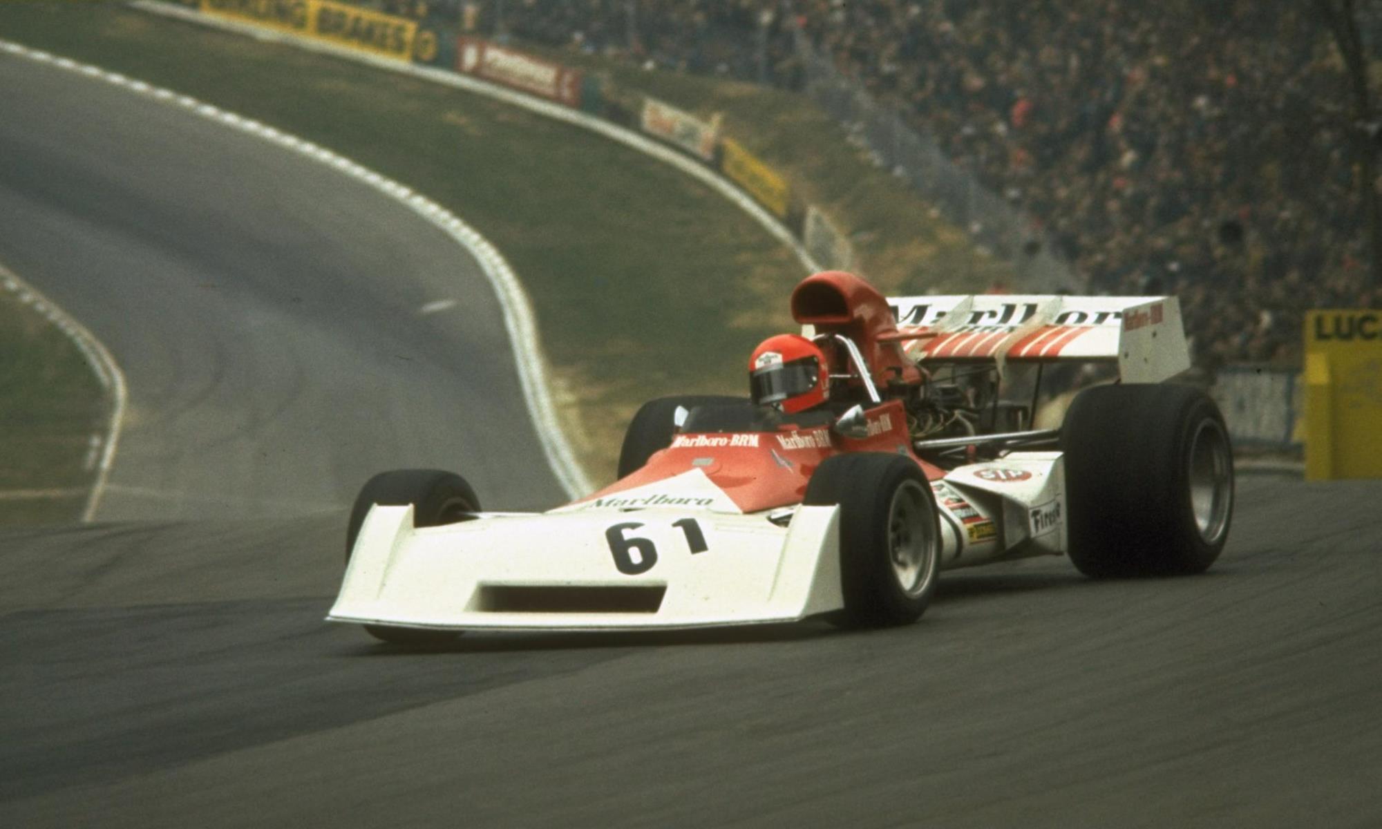 BRM F1 car