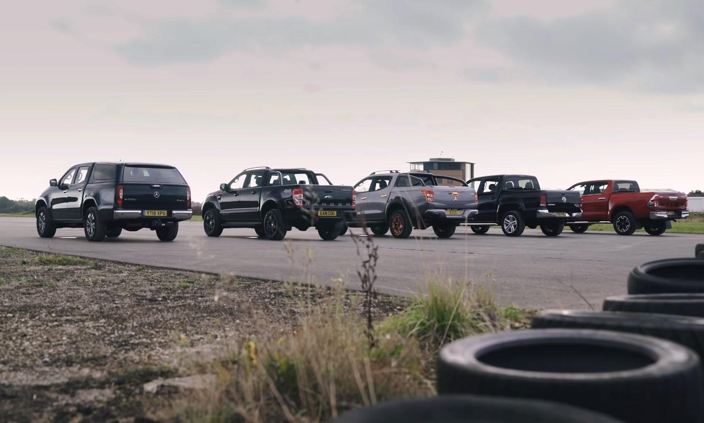 Bakkie Drag Race rear