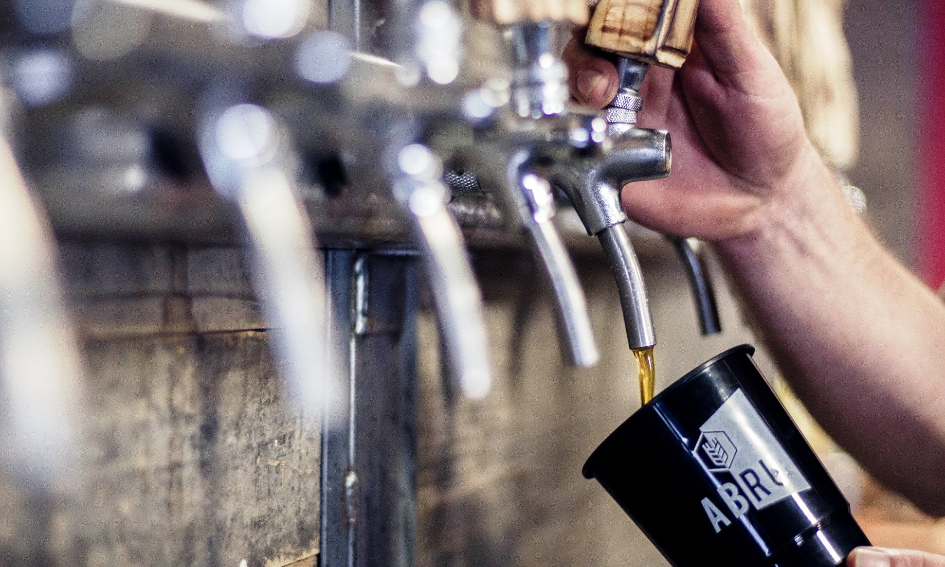 Abru brewey at Motor Studio