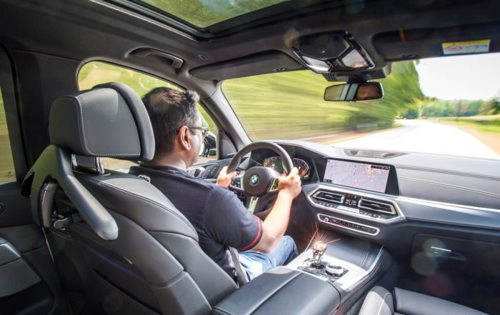 Behind the wheel of the new BMW X5