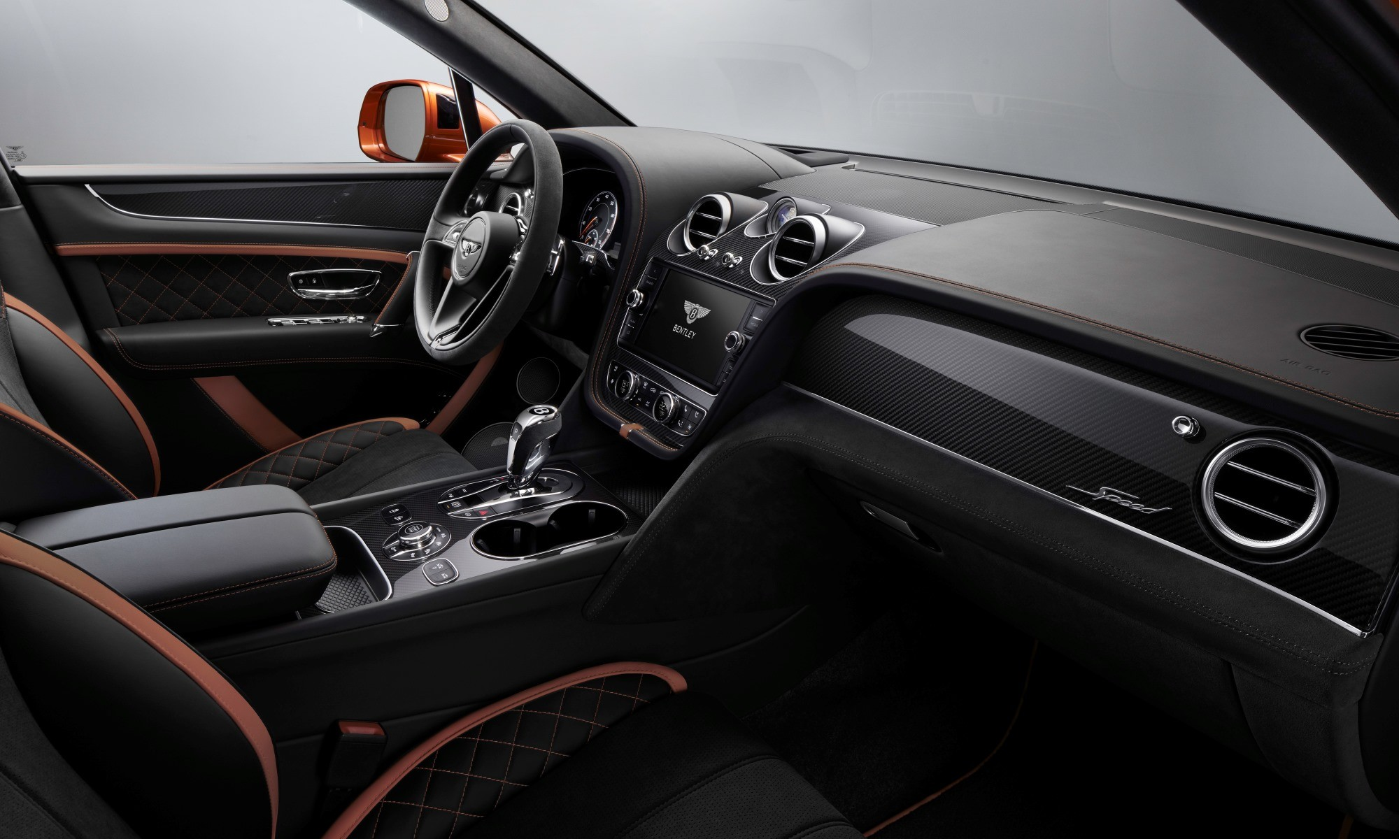 Bentley Bentayga Speed interior