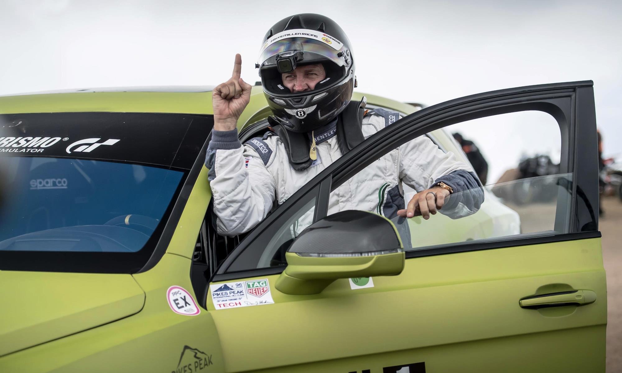 Bentley Bentayga Pikes Peak driver Rhys Millen